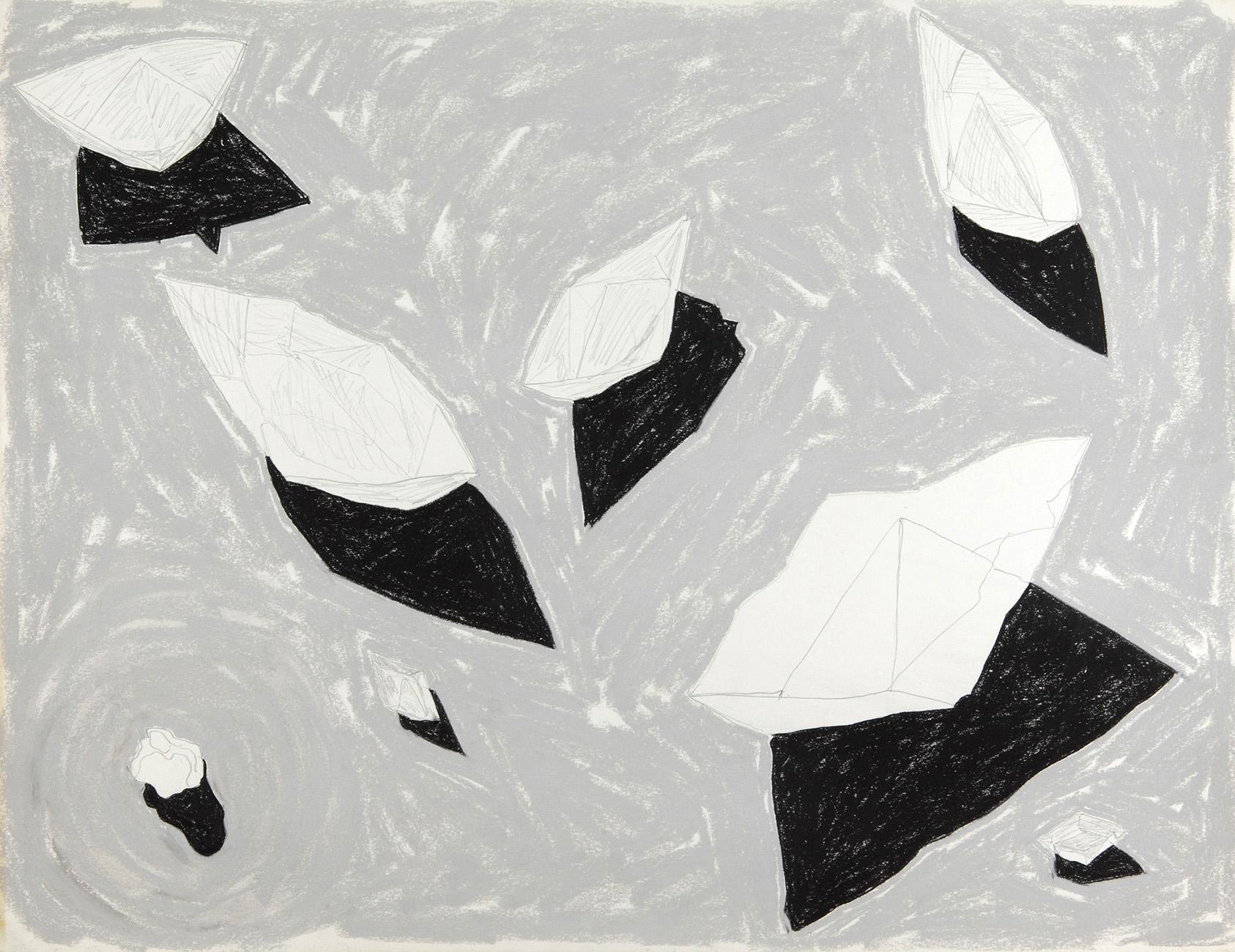 Akkrum 1 -  potlood & pastelkrijt  -  50x70 cm - verkocht