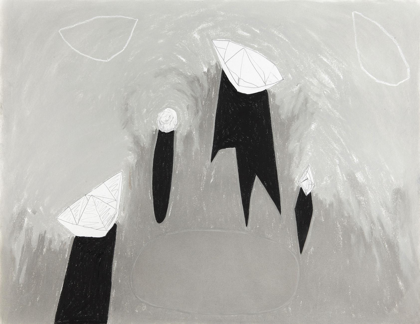 Akkrum 2 -  potlood & pastelkrijt  -  50x70 cm - verkocht