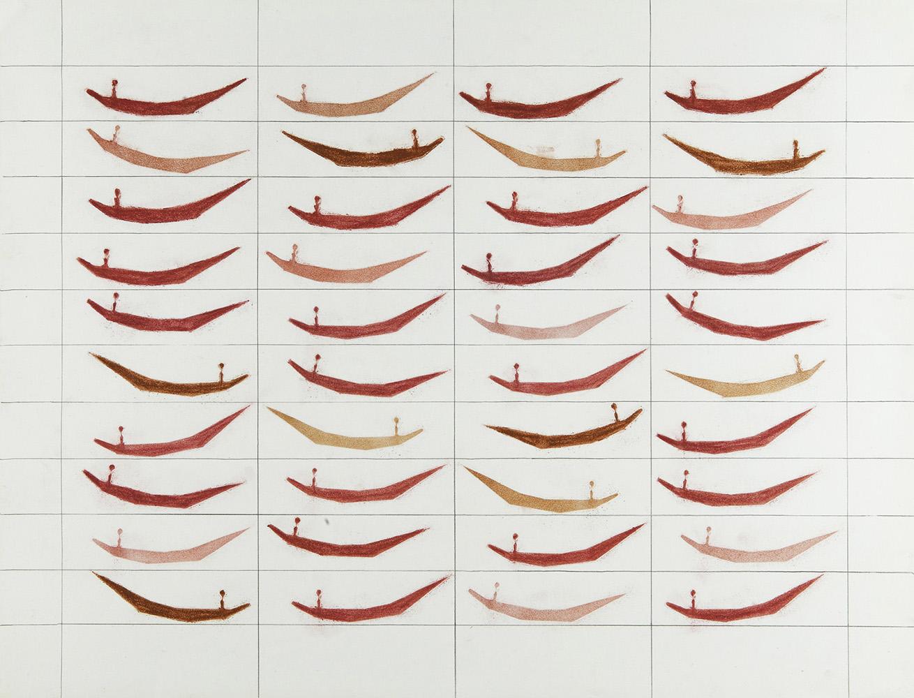 Geen titel 6 - potlood & pastelkrijt - 50x70 cm - €450