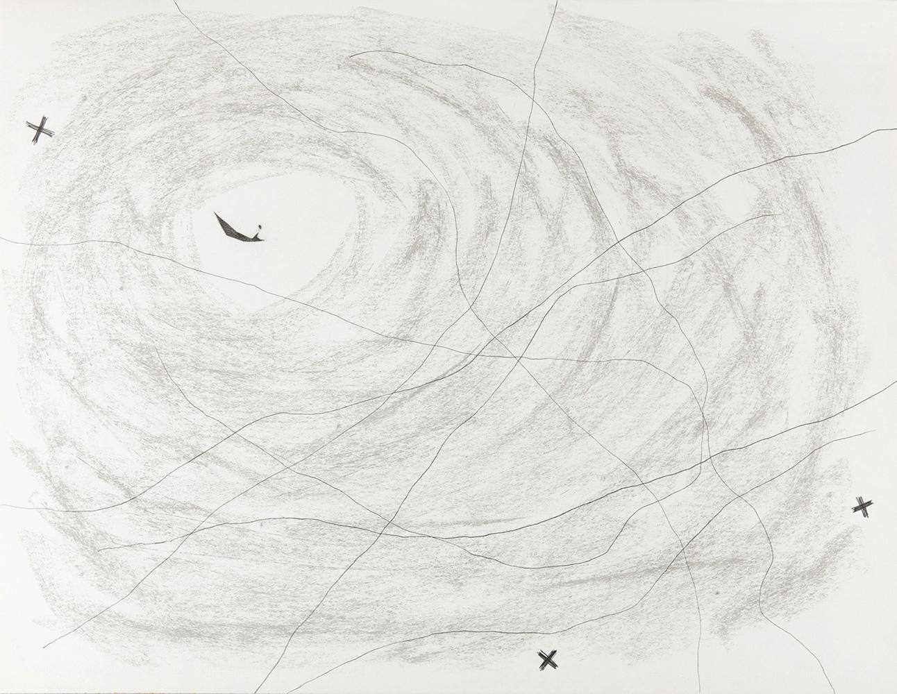 Waar -  potlood & pastelkrijt  -  50x70 cm - €450